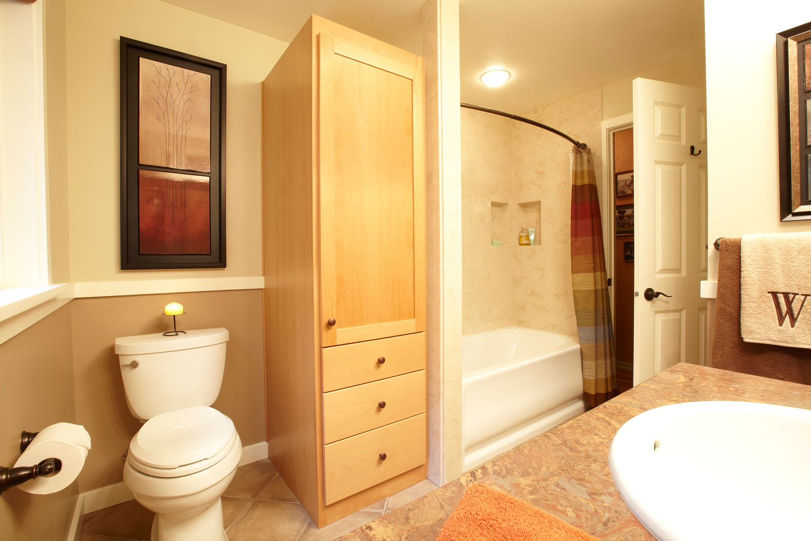 Walker Bathroom Remodel In Eugene Oregon - Bathroom remodel eugene oregon