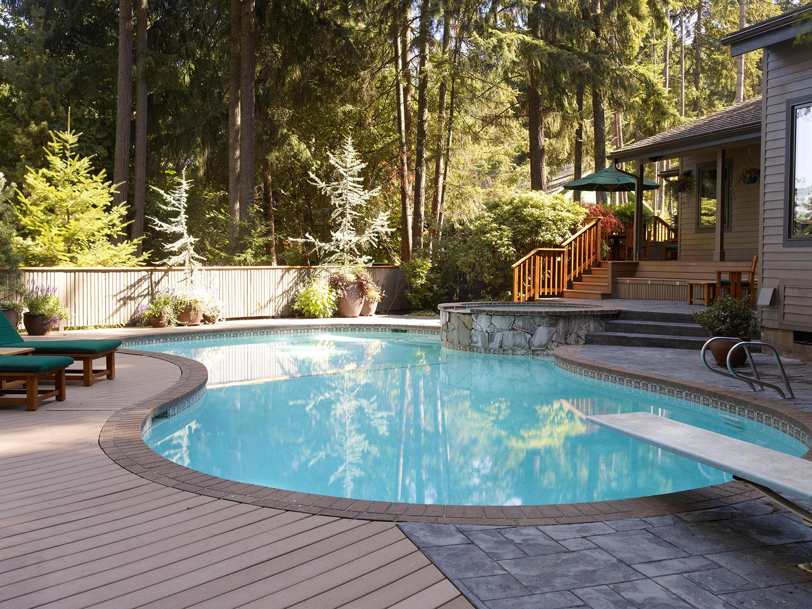 Biglan Pool Deck & Patio Design Eugene