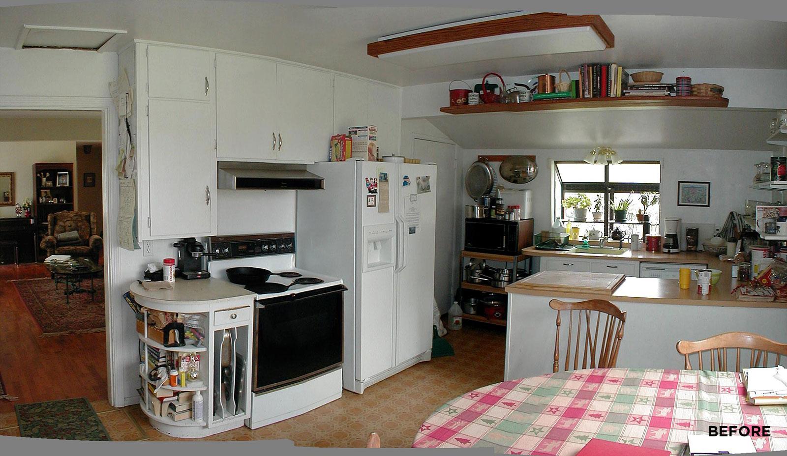 Farver Kitchen Remodel Eugene Before