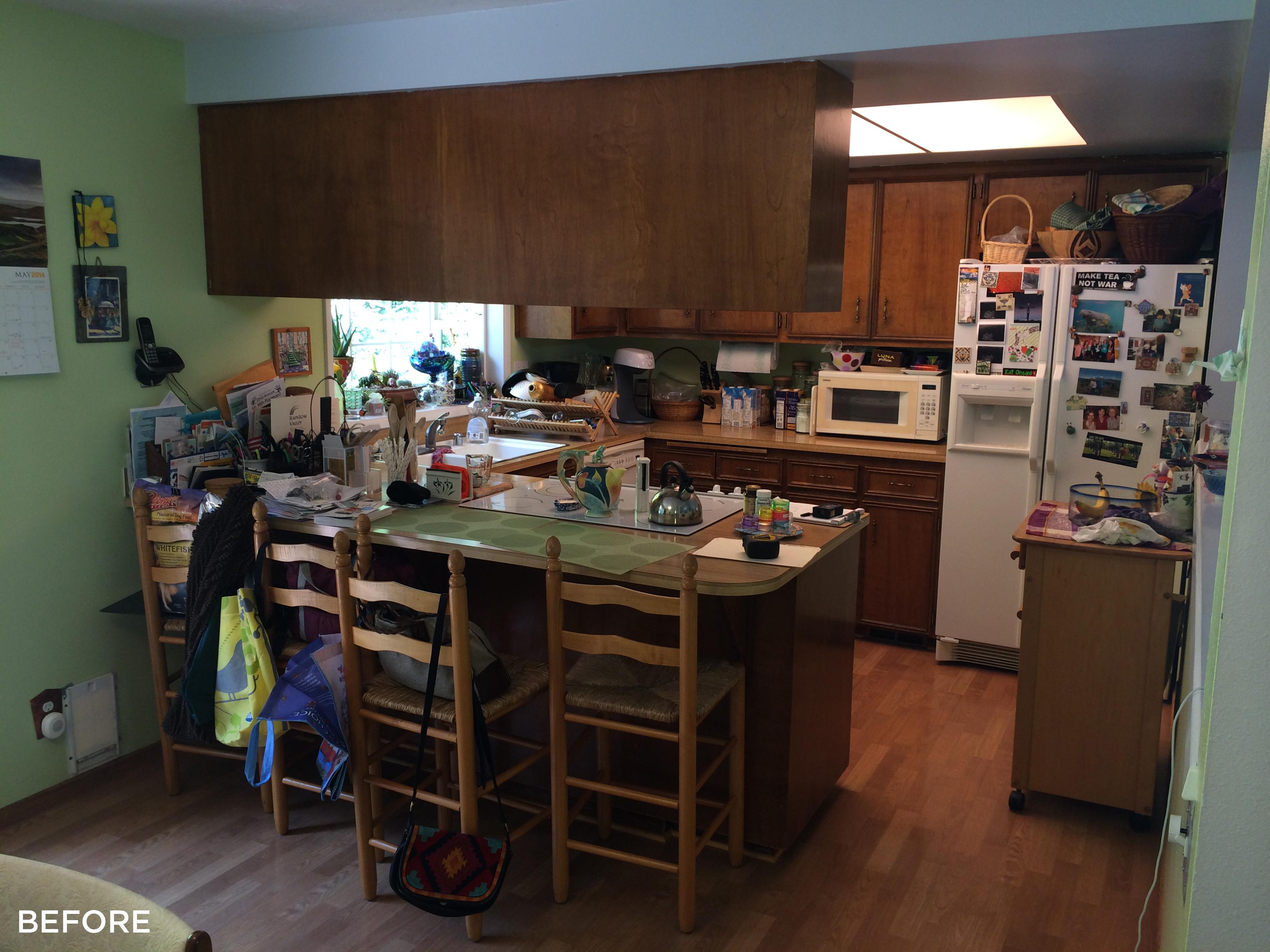 Schenck/Tate Kitchen Remodel Before