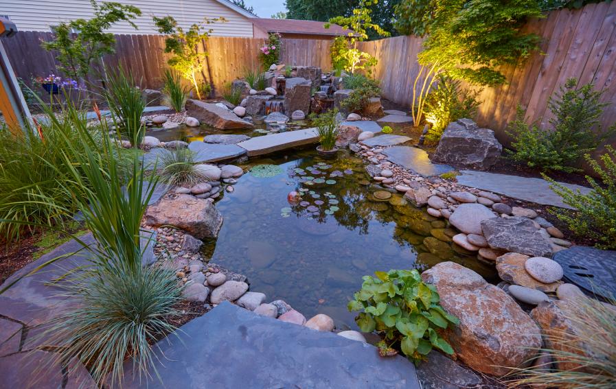 Creating a Backyard Oasis | Rainbow Valley Design ... on Designing A Backyard Oasis id=25694